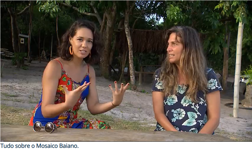 Espaço Harmonia do Saleiro é citado no Programa Mosaico Baiano