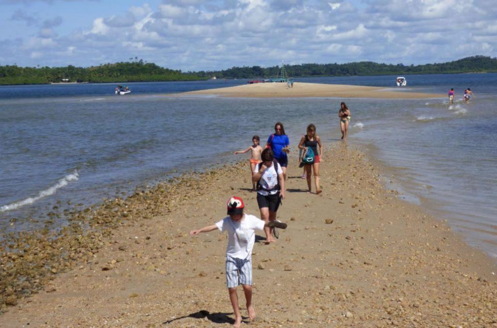 Baía de Camamu - Ilha da Pedra Furada