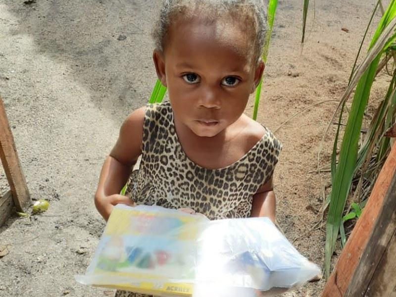 Em junho distribuímos cestas básicas a 60 famílias!