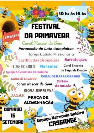 Festival da Primavera - Projeto Maramar (1)